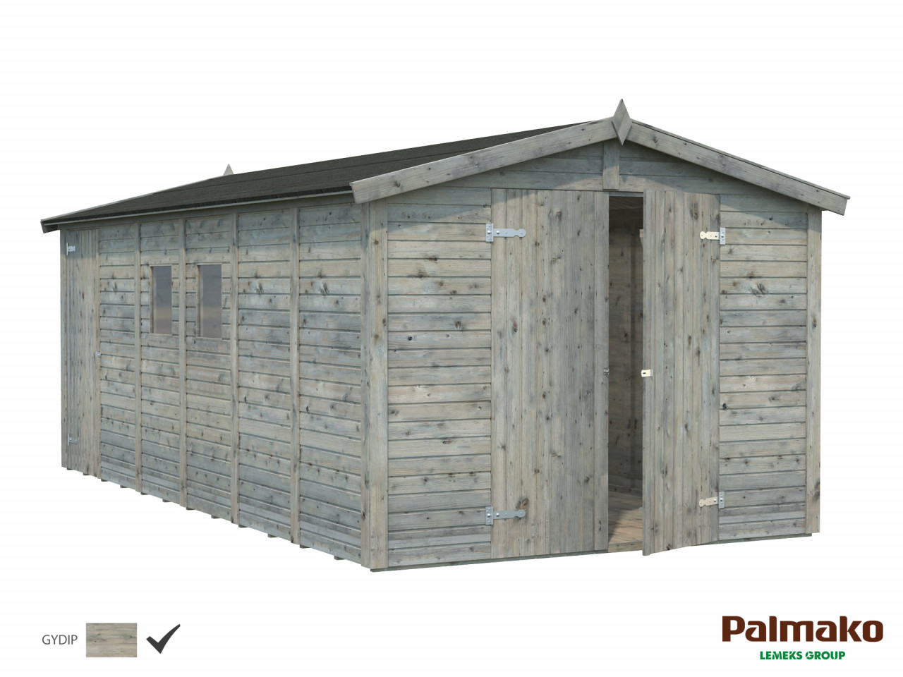 Palmako Gerätehaus Dan 14,7 m²