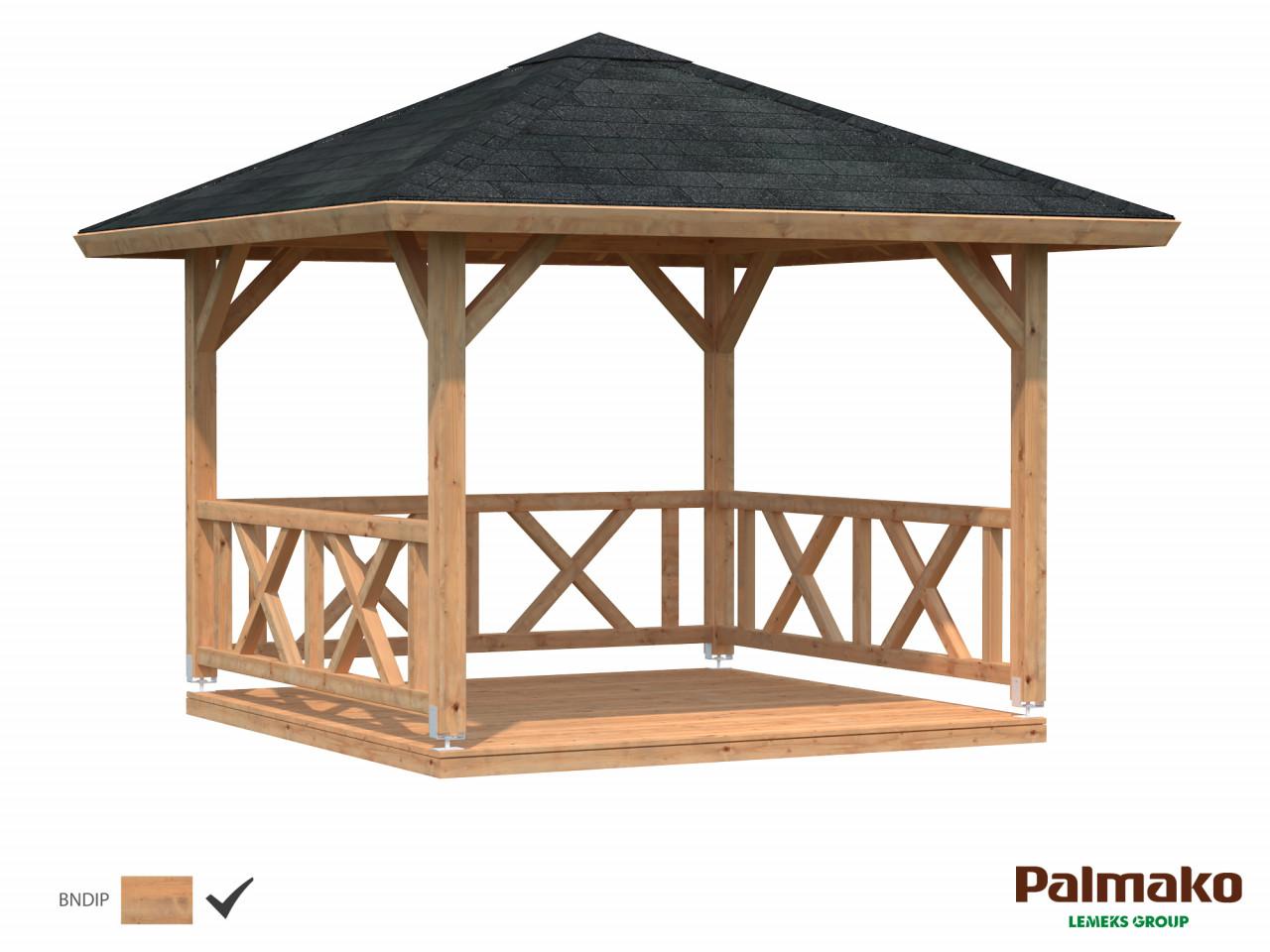 Palmako Pavillon Betty 9,0 m²