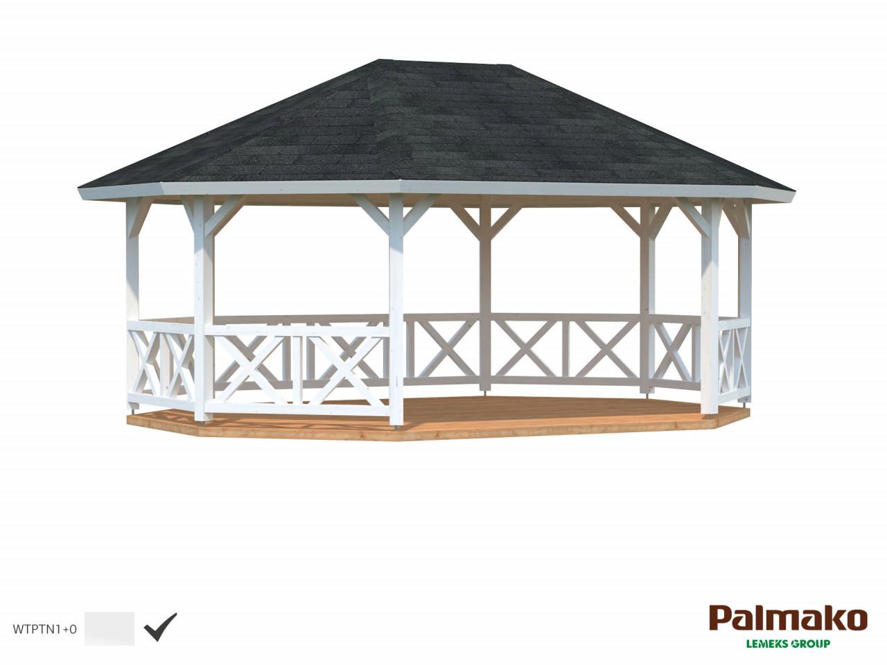 Palmako Pavillon Betty 25,0 m²