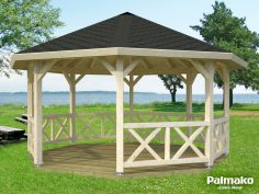 Palmako Pavillon Betty 18,0 m²