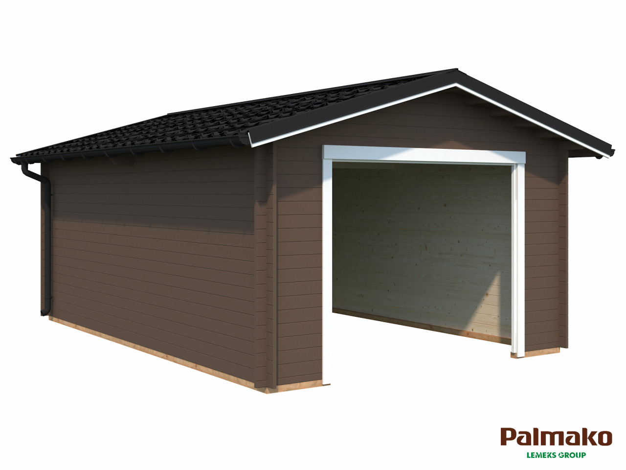 Holzgarage Tomas 19,2 m²