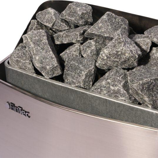 FinTec E- Saunaofen Irmina 9 KW inkl. Steuerung