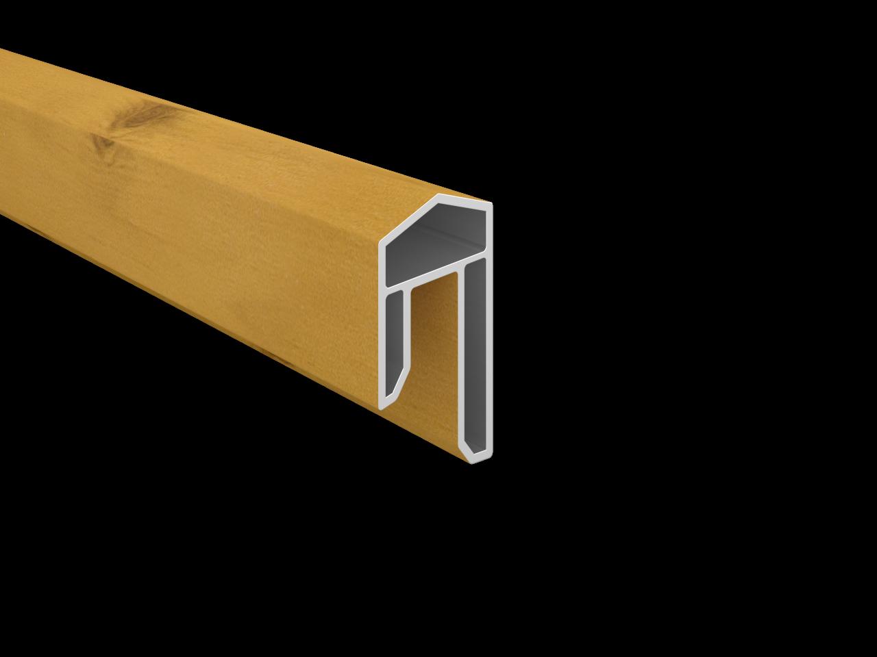 BALTIC-Serie KS-Abdeckleiste 17 x 31 x 1760 mm, ASTFICHTE